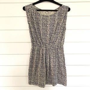 Loft Sleeveless Cinched Dress